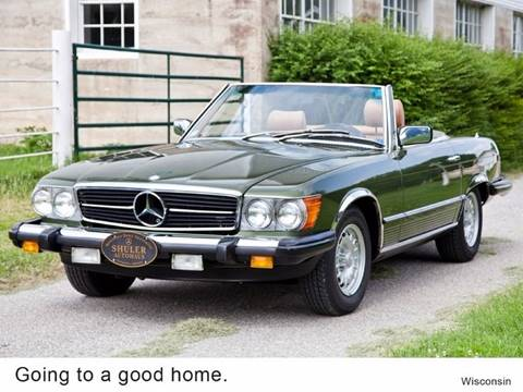 1981 Mercedes-Benz 380-Class for sale at Ehrlich Motorwerks in Siloam Springs AR