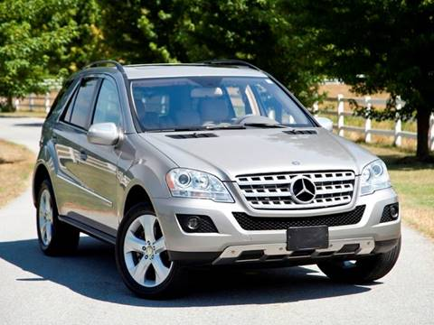 2009 Mercedes-Benz M-Class for sale at Ehrlich Motorwerks in Siloam Springs AR