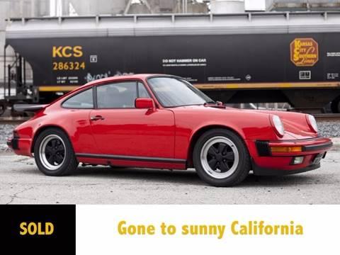1985 Porsche 911 for sale at Ehrlich Motorwerks in Siloam Springs AR