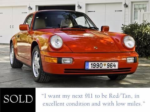 1990 Porsche 911 for sale at Ehrlich Motorwerks in Siloam Springs AR