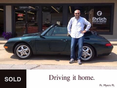 1997 Porsche 911 Carrera for sale at Ehrlich Motorwerks in Siloam Springs AR