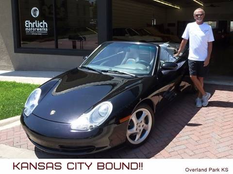 2001 Porsche 911 for sale at Ehrlich Motorwerks in Siloam Springs AR
