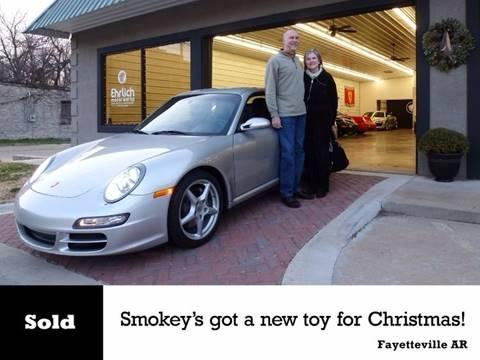 2006 Porsche 911 for sale at Ehrlich Motorwerks in Siloam Springs AR