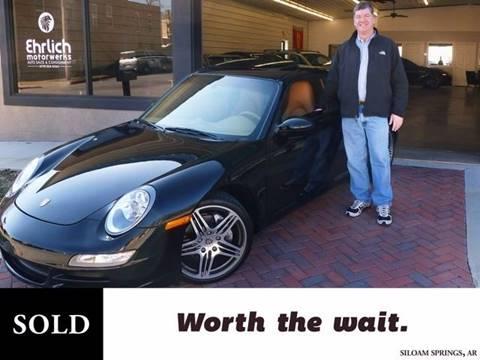 2008 Porsche 911 Carrera for sale at Ehrlich Motorwerks in Siloam Springs AR