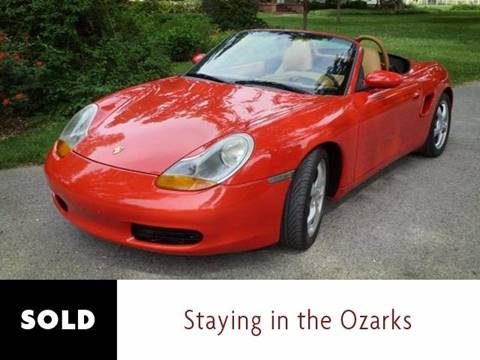 2000 Porsche Boxster for sale at Ehrlich Motorwerks in Siloam Springs AR
