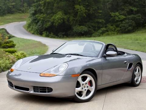 2001 Porsche Boxster for sale at Ehrlich Motorwerks in Siloam Springs AR