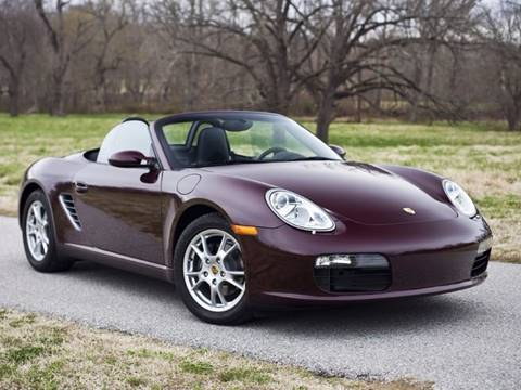 2006 Porsche Boxster for sale at Ehrlich Motorwerks in Siloam Springs AR