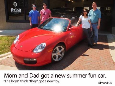 2007 Porsche Boxster for sale at Ehrlich Motorwerks in Siloam Springs AR