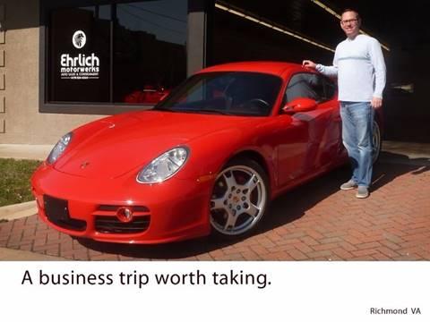 2007 Porsche Cayman for sale at Ehrlich Motorwerks in Siloam Springs AR