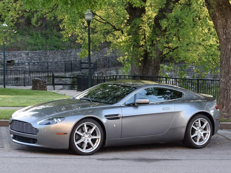 2007 Aston Martin V8 Vantage for sale at Ehrlich Motorwerks in Siloam Springs AR