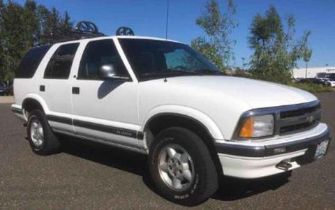 1997 Chevrolet Blazer for sale in Vancouver, WA