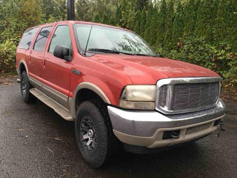 2000 Ford Excursion for sale in Vancouver, WA