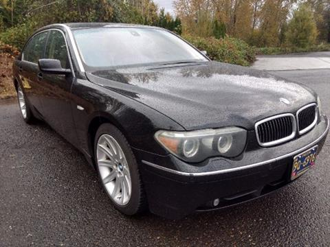 2004 BMW 7 Series For Sale In Vancouver, WA