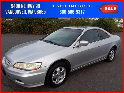 2001 Honda Accord For Sale In Vancouver, WA