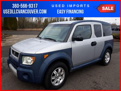 2006 Honda Element for sale in Vancouver, WA