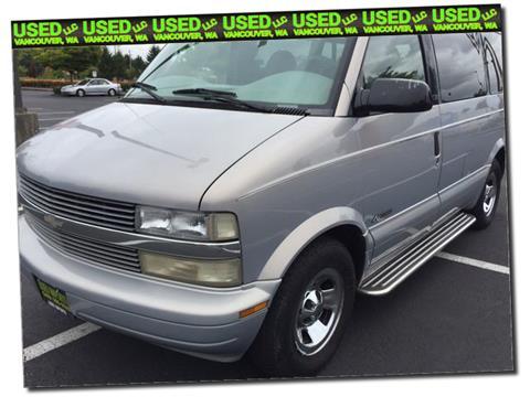 1999 Chevrolet Astro for sale in Vancouver, WA