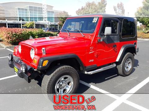 1999 Jeep Wrangler for sale in Vancouver, WA