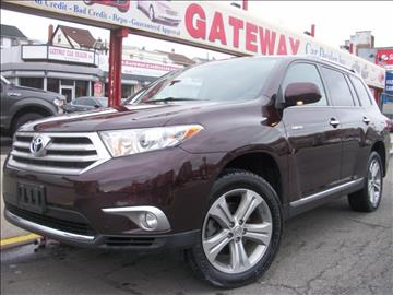 2012 Toyota Highlander for sale in Jamaica, NY