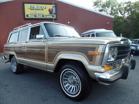 1989 Jeep Grand Wagoneer for sale in Johnstown, PA