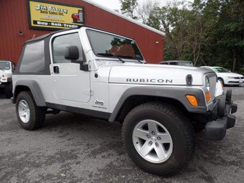 2005 Jeep Wrangler For Sale In Johnstown, PA