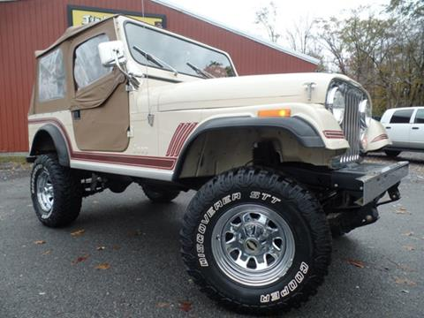 1985 Jeep CJ-7 for sale in Johnstown, PA