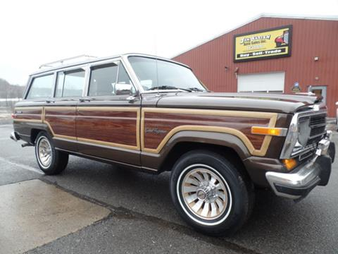 1987 Jeep Grand Wagoneer for sale in Johnstown, PA