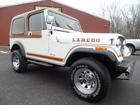 1984 Jeep CJ-7 for sale in Johnstown, PA