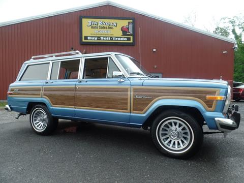 Jeep Grand Wagoneer For Sale >> 1991 Jeep Grand Wagoneer For Sale In Johnstown Pa