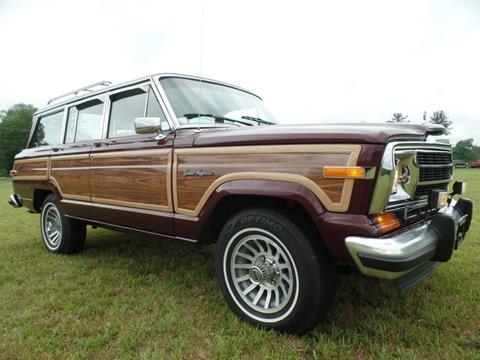 1991 Jeep Grand Wagoneer for sale in Johnstown, PA