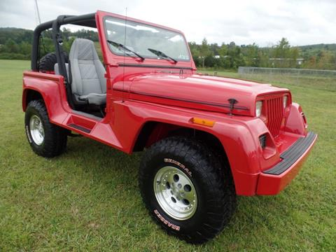 1992 Jeep Wrangler for sale in Johnstown, PA