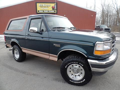 1995 Ford Bronco >> 1995 Ford Bronco For Sale In Johnstown Pa