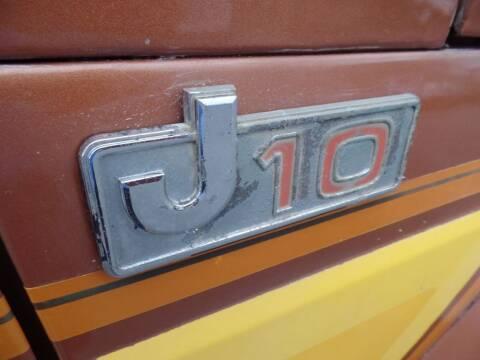 1983 Jeep J-10 Pickup