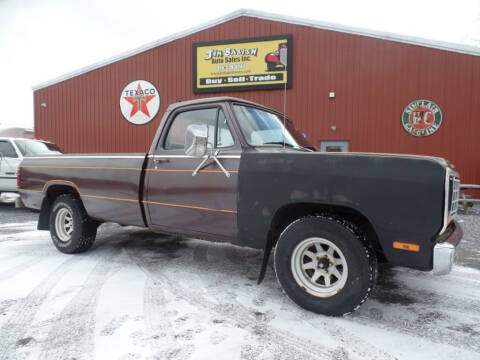1982 Dodge RAM 150 for sale at Jim Babish Auto Sales in Johnstown PA