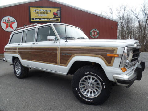 1989 Jeep Grand Wagoneer for sale at Jim Babish Auto Sales in Johnstown PA
