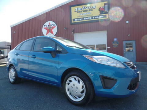 2012 Ford Fiesta SE for sale at Jim Babish Auto Sales in Johnstown PA