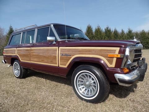 1988 Jeep Grand Wagoneer for sale in Johnstown, PA