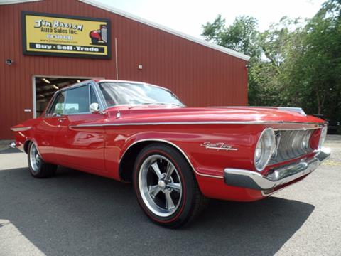 1962 Plymouth Sport Fury for sale in Johnstown, PA