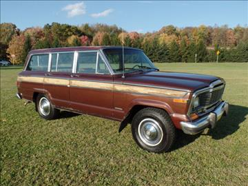 1981 Jeep Wagoneer for sale in Johnstown, PA