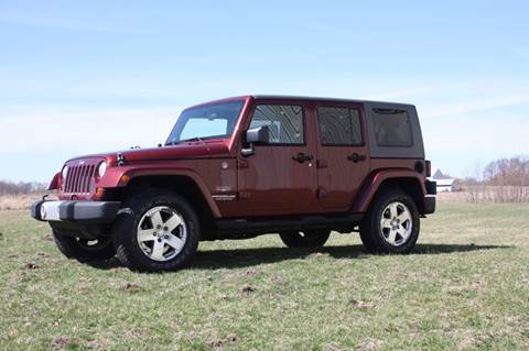 2009 Jeep Wrangler Unlimited for sale in Plymouth, IN
