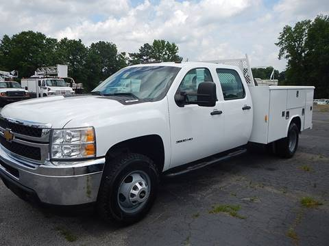 2013 Chevrolet SILVERADO 3500HD CREW 4X4 for sale in Marietta, GA