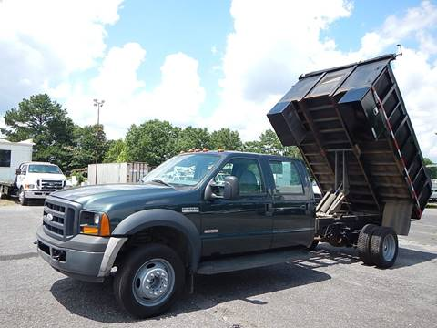 2007 Ford F550XL CREW 11' FLATBED DUMP for sale in Marietta, GA