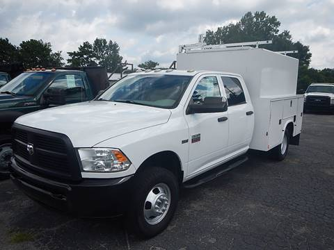 2012 Dodge RAM 3500 CREW CAB 9' UTILITY for sale in Marietta, GA