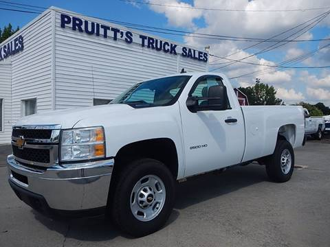 2014 Chevrolet Silverado 2500HD for sale at Pruitt's Truck Sales in Marietta GA