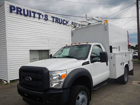 2012 Ford F-550 Super Duty for sale at Pruitt's Truck Sales in Marietta GA