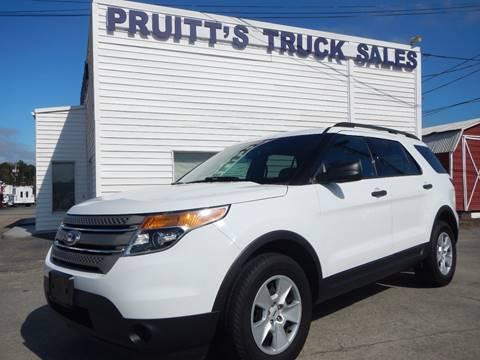 2014 Ford Explorer for sale at Pruitt's Truck Sales in Marietta GA