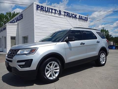 2016 Ford Explorer for sale at Pruitt's Truck Sales in Marietta GA