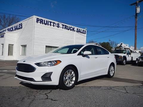 2019 Ford Fusion for sale at Pruitt's Truck Sales in Marietta GA
