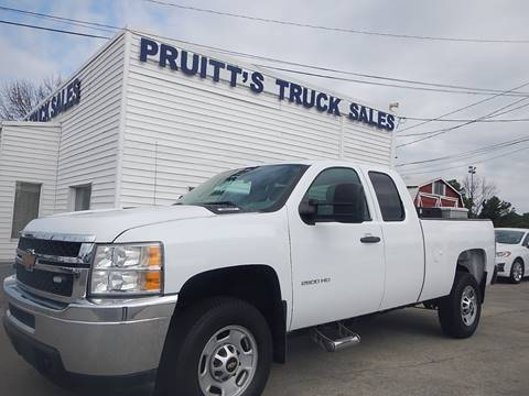 2013 Chevrolet Silverado 2500HD for sale at Pruitt's Truck Sales in Marietta GA