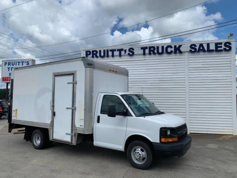 2014 Chevrolet Express Cutaway for sale at Pruitt's Truck Sales in Marietta GA