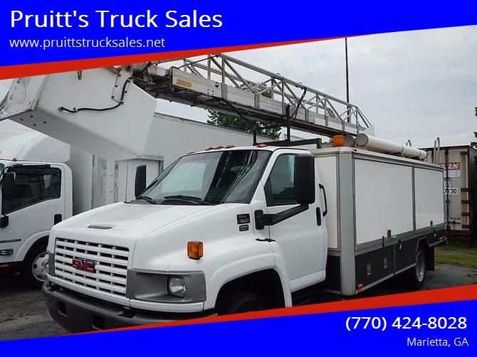 2006 GMC TOPKICK for sale at Pruitt's Truck Sales in Marietta GA